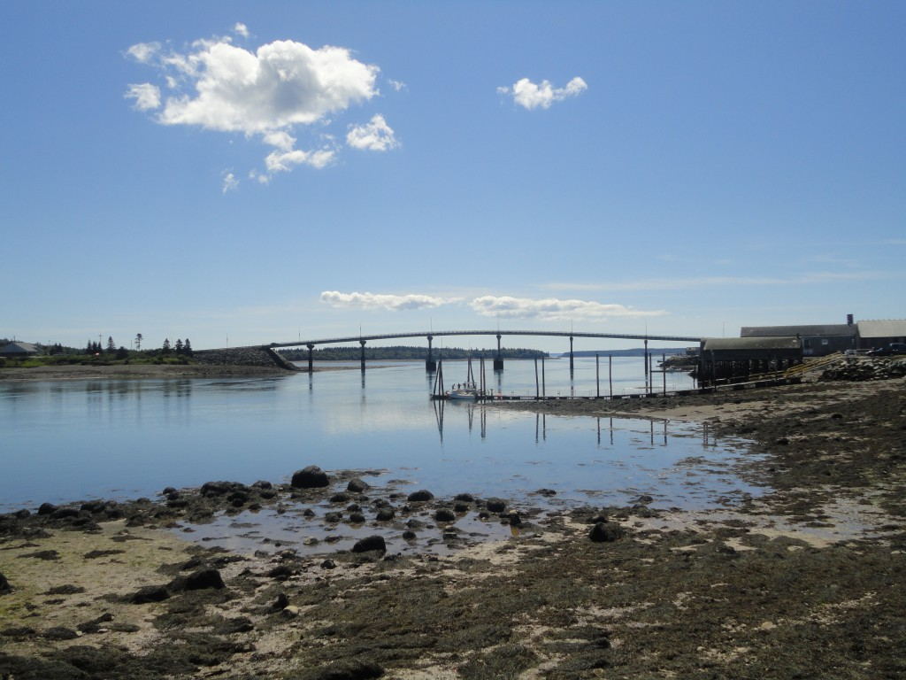 Bridge from Lubec, Maine to Campobello Island
